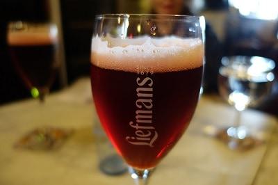 Tasty cherry beer