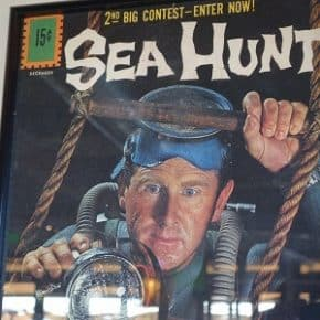 Sea Hunt surfaced at Nelson's Restaurant