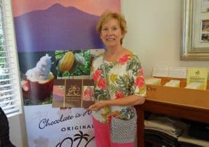Owner Pam Cooper greets with kindness