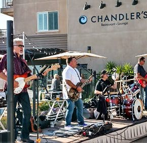 Summer Music in Swing at Cape Rey in Carlsbad, California